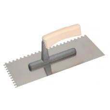 Нержавеющая тёрка, 130*270 зубчатая 10х10 мм ECO Line