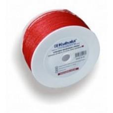 Шнурок для каменщиков 1,7 мм - намотка 100 м - красный