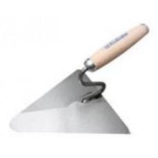 Мастерок треугольный c деревянной ручкой 220х215 мм