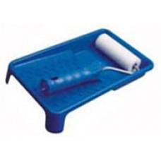 Валик малярный паролоновый 100 мм с ручкой + ванночка