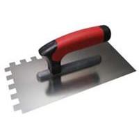 Тёрка нержавеющая зубчатая  6х6 мм, ручка G-8