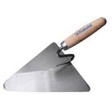 Мастерок треугольный c деревянной ручкой 200х190 мм